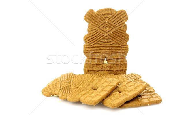Cookies типичный голландский печенье белый продовольствие Сток-фото © peter_zijlstra