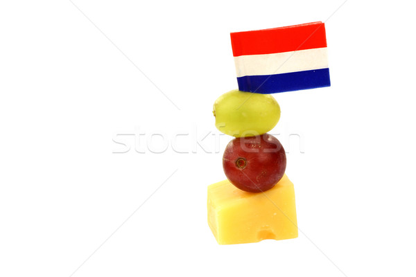 Dutch cheese snack Stock photo © peter_zijlstra
