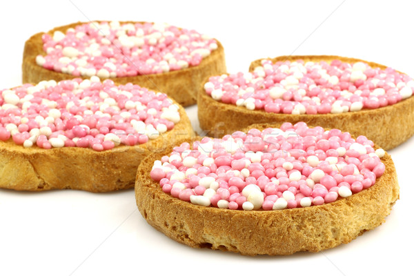 белый розовый анис семени служивший Голландии Сток-фото © peter_zijlstra