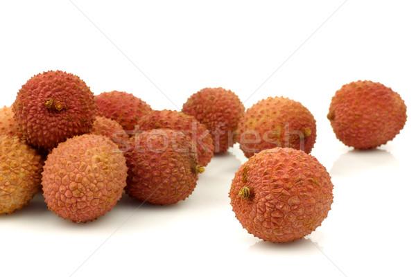 свежие фрукты азиатских десерта диета Сток-фото © peter_zijlstra