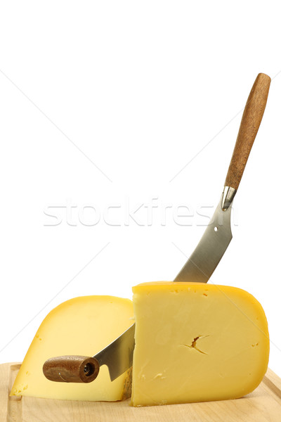 traditional Gouda cheese pieces Stock photo © peter_zijlstra