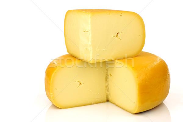 traditional Dutch Gouda cheese Stock photo © peter_zijlstra