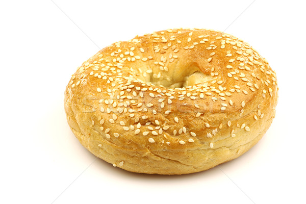 freshly baked bagel Stock photo © peter_zijlstra