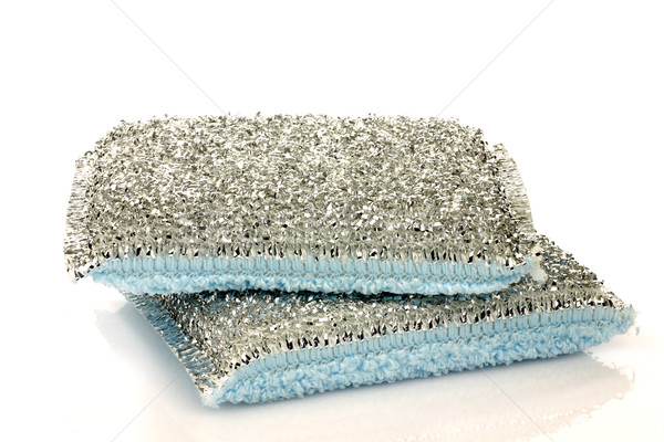 two abrasive pads Stock photo © peter_zijlstra