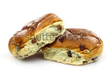 freshly baked current bun Stock photo © peter_zijlstra