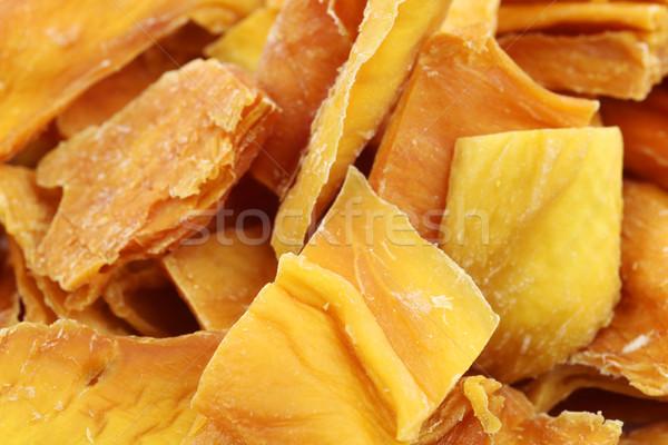 Színes darabok aszalt mangó gyümölcs trópusi Stock fotó © peter_zijlstra
