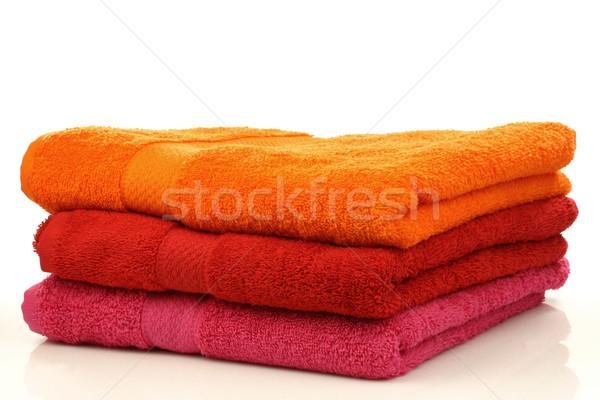 Сток-фото: три · красочный · белый · оранжевый · инструменты