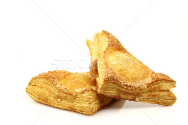 freshly baked crispy apple turnovers Stock photo © peter_zijlstra