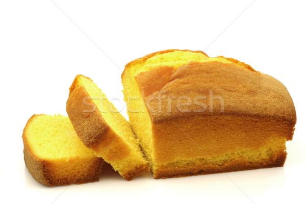 торт Ломтики белый десерта Сток-фото © peter_zijlstra