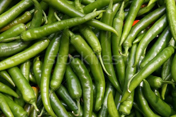 緑 ピーマン 食品 背景 野菜 新鮮な ストックフォト © peter_zijlstra