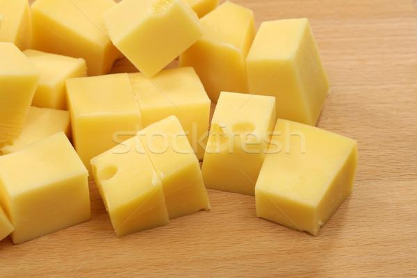 блоки голландский сыра лоток вечеринка Сток-фото © peter_zijlstra