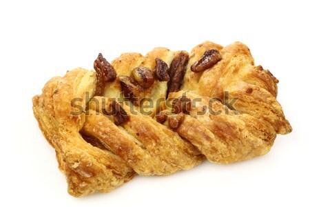 Witte voedsel dessert zoete kaneel Stockfoto © peter_zijlstra