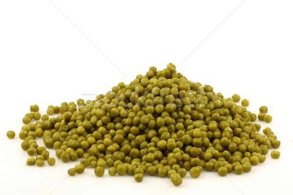 Groene erwten witte voedsel landbouw zoete Stockfoto © peter_zijlstra