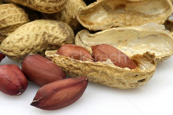 арахис кожи есть открытых природного Сток-фото © peter_zijlstra
