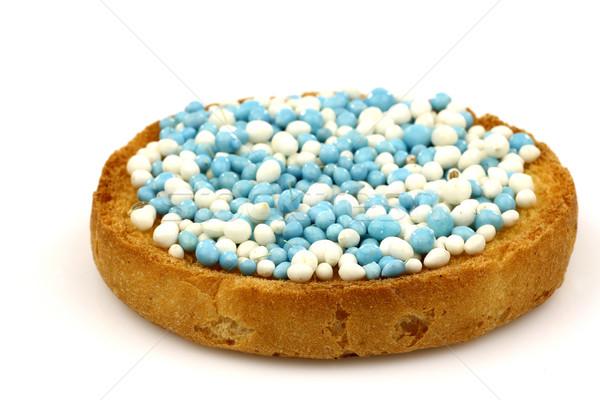 Blauw witte anijs zaad geserveerd holland Stockfoto © peter_zijlstra