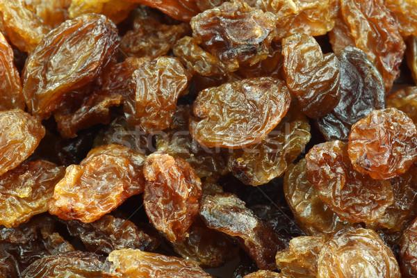 Сток-фото: сушат · изюм · фрукты · виноград · здорового