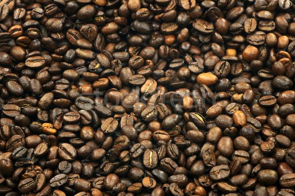 Kávé kávé háttér energia mezőgazdaság bab Stock fotó © peter_zijlstra