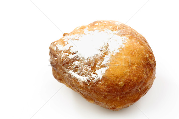 freshly baked traditional dutch oliebol Stock photo © peter_zijlstra