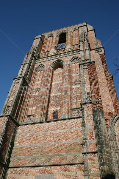 башни здании Церкви архитектура Сток-фото © peter_zijlstra