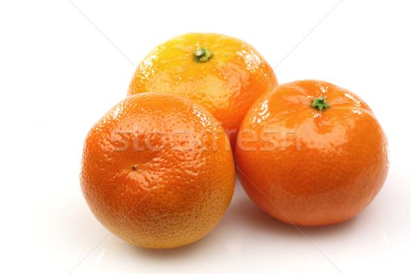 Сток-фото: три · свежие · лет · оранжевый · Sweet · здорового