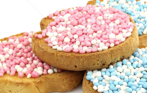 Сток-фото: белый · синий · розовый · анис · семени · служивший