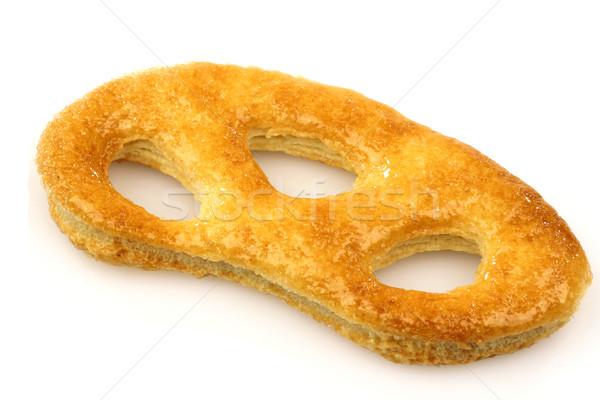 Dutch cookie called 'krakeling'  Stock photo © peter_zijlstra