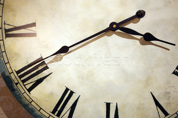 часы старые Vintage стороны ретро белый Сток-фото © peter_zijlstra