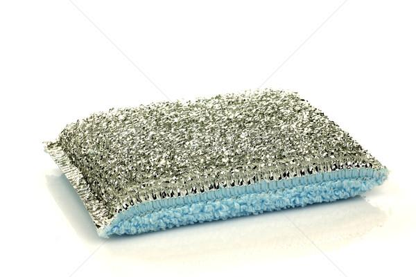 Сток-фото: текстуры · металл · чистой · инструментом · цветами · изолированный