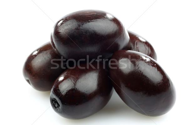 маслины белый плодов черный приготовления Сток-фото © peter_zijlstra