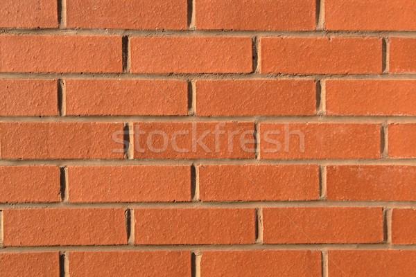 Pared de ladrillo textura pared fondo ladrillo Foto stock © peterguess