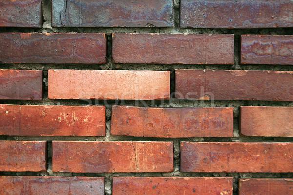 Mur de briques mur industrie brique architecture Photo stock © peterguess
