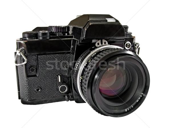 35mm kamera film siyah bağbozumu Stok fotoğraf © peterguess