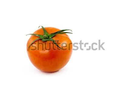 孤立した トマト 白 サラダ 野菜 新鮮な ストックフォト © peterguess