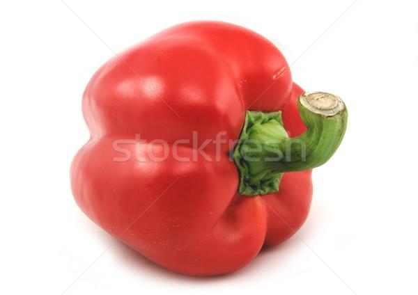 赤 唐辛子 孤立した 白 食品 健康 ストックフォト © peterguess
