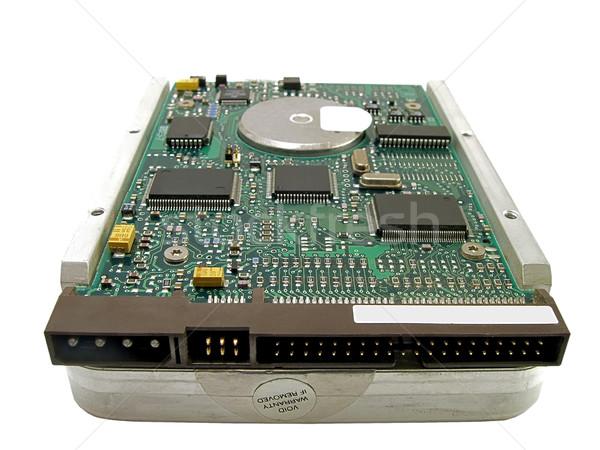 Harde schijf pc computer technologie circuit chip Stockfoto © peterguess