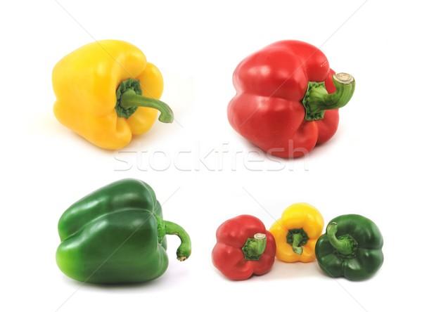 ピーマン 黄色 赤 緑 白 ストックフォト © peterguess