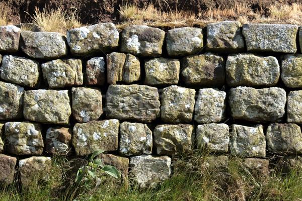 Anciens mur pierre Photo stock © peterguess