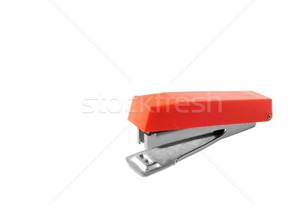 Small Red Stapler Stock photo © peterguess