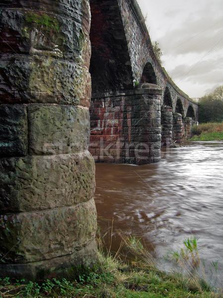 Eden Bridge Stock photo © peterguess