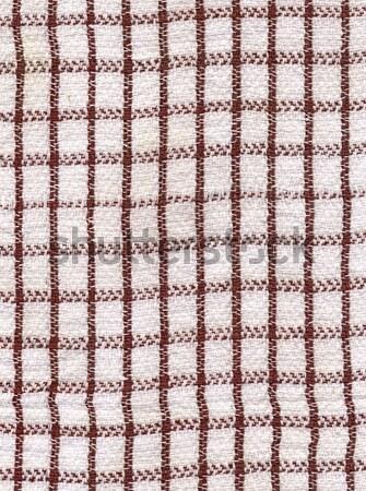 Grubby Tea Towel Stock photo © peterguess