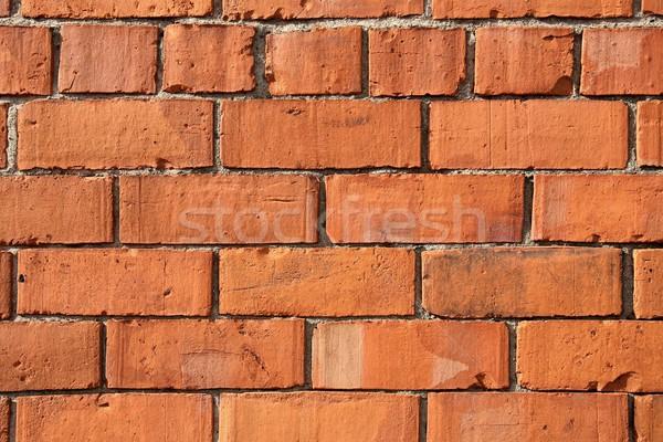 レンガの壁 セクション 壁 テクスチャ 背景 パターン ストックフォト © peterguess