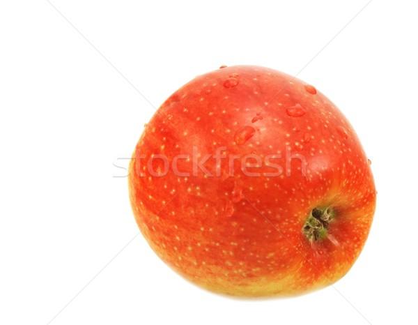 Pomme isolé blanche eau santé manger Photo stock © peterguess