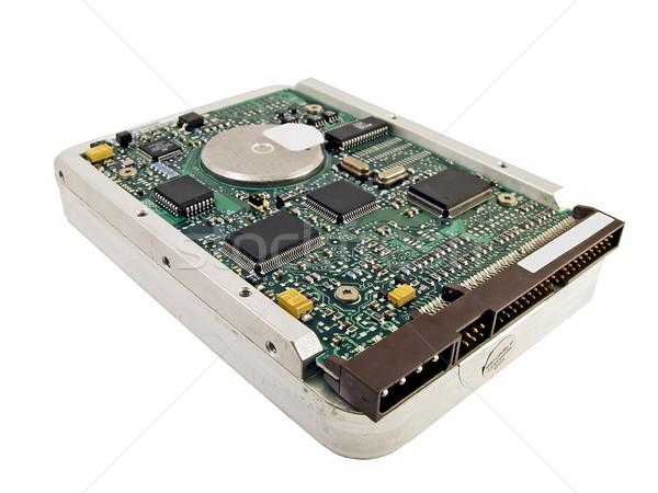 Disque dur pc ordinateur technologie circuit puce Photo stock © peterguess