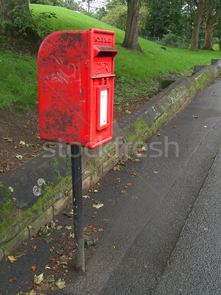 Small British Post Box Stock photo © peterguess