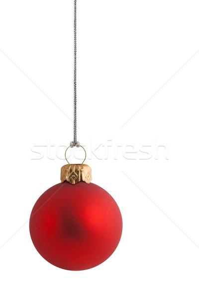 赤 クリスマス 安物の宝石 金 銀 文字列 ストックフォト © peterguess