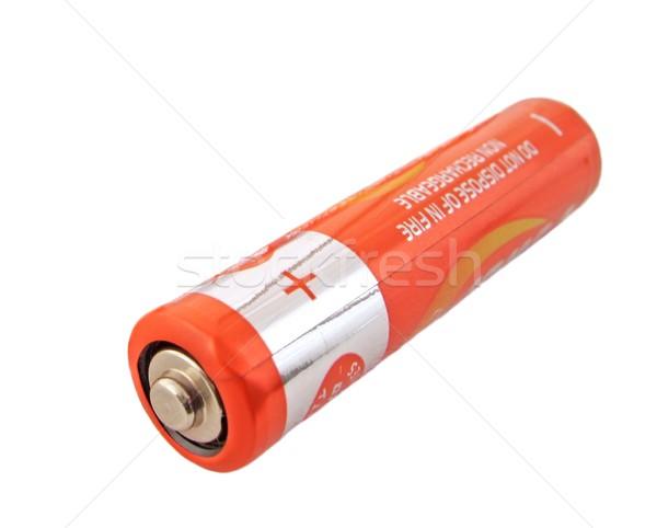 Batterie faible énergie électricité électrique Photo stock © peterguess