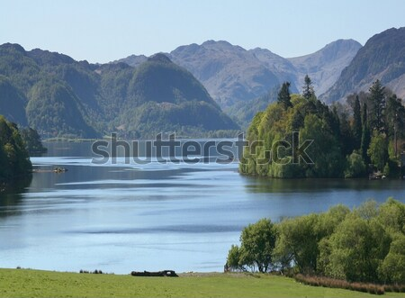 Eau vue lake district Angleterre Photo stock © peterguess