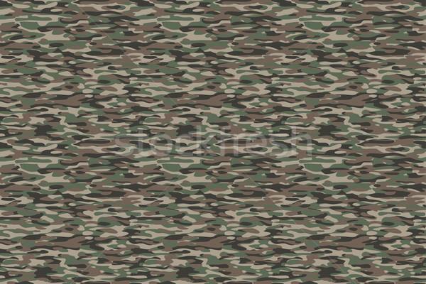 оливкового коричневый военных текстильной шаблон Сток-фото © PeterHermesFurian