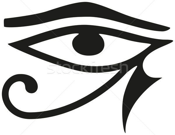 Eye of Horus Stock photo © PeterHermesFurian