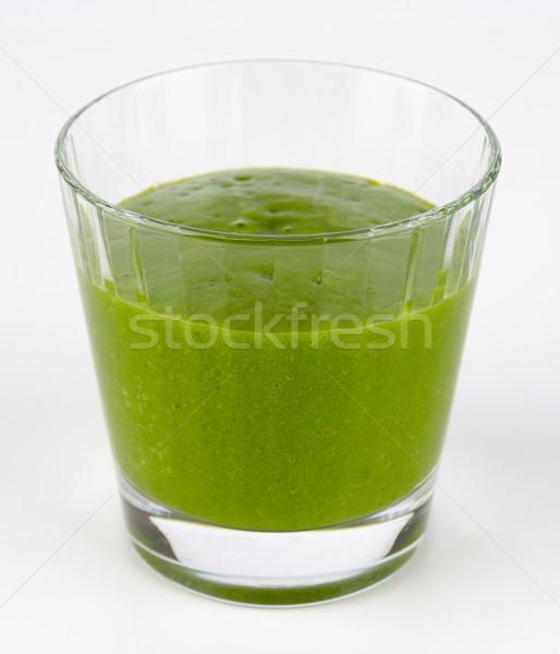 グリーンスムージー ガラス オーガニック ほうれん草 果物 生 ストックフォト © PeterHermesFurian